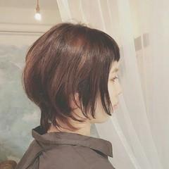 モード 夏 アンニュイ ショート ヘアスタイルや髪型の写真・画像