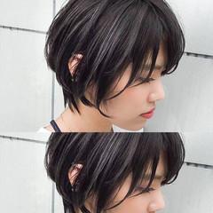 ブルージュ ハイライト 外国人風 ショート ヘアスタイルや髪型の写真・画像