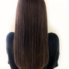 デート オフィス ロング ナチュラル ヘアスタイルや髪型の写真・画像