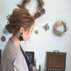 謝恩会 大人かわいい ボブ ガーリー ヘアスタイルや髪型の写真・画像