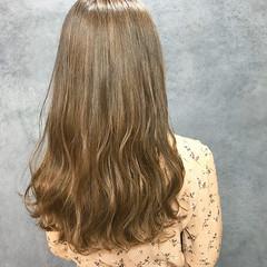 ヌーディベージュ ミルクティーベージュ ヌーディーベージュ シアーベージュ ヘアスタイルや髪型の写真・画像