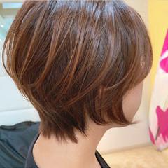 ウルフカット ミニボブ ショートボブ ショート ヘアスタイルや髪型の写真・画像