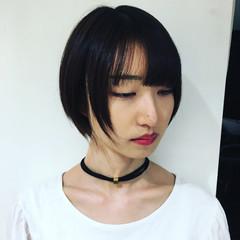 ショート ストリート モテ髪 アッシュ ヘアスタイルや髪型の写真・画像