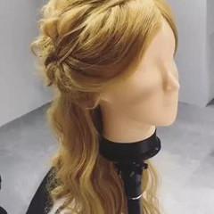 デート ナチュラル ゆるふわ ロング ヘアスタイルや髪型の写真・画像