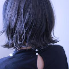 ダブルカラー モード 大人女子 ボブ ヘアスタイルや髪型の写真・画像