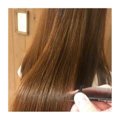 イルミナカラー セミロング トリートメント ツヤツヤ ヘアスタイルや髪型の写真・画像