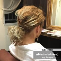 グラデーションカラー ヘアアレンジ ダブルカラー パンク ヘアスタイルや髪型の写真・画像