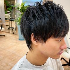 ウルフカット マッシュ ツーブロック マッシュウルフ ヘアスタイルや髪型の写真・画像