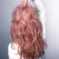 ロング 外国人風 大人かわいい ガーリー ヘアスタイルや髪型の写真・画像