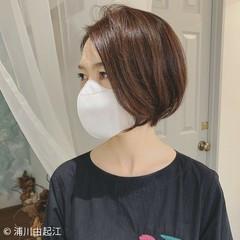 艶髪 エレガント ショートヘア モテ髪 ヘアスタイルや髪型の写真・画像
