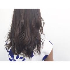 コンサバ イルミナカラー 外国人風 ハイライト ヘアスタイルや髪型の写真・画像