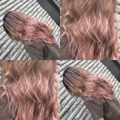ナチュラルベージュ ストリート 外国人風カラー ベージュ ヘアスタイルや髪型の写真・画像