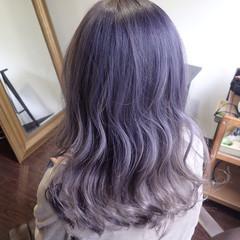 ストリート セミロング 外国人風カラー ダブルカラー ヘアスタイルや髪型の写真・画像