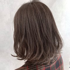 3Dハイライト ナチュラル 透明感カラー 外ハネボブ ヘアスタイルや髪型の写真・画像