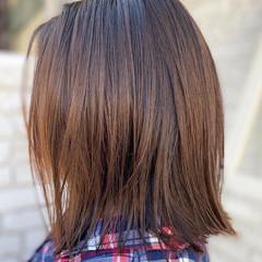 アッシュベージュ ミディアム ミルクティーグレージュ ブラウンベージュ ヘアスタイルや髪型の写真・画像