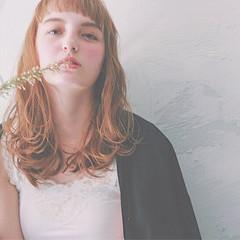 パーマ ナチュラル ゆるふわ ピュア ヘアスタイルや髪型の写真・画像