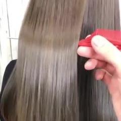 髪質改善トリートメント モテ髪 ロング トリートメント ヘアスタイルや髪型の写真・画像