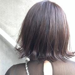 モード ウェットヘア ボブ タンバルモリ ヘアスタイルや髪型の写真・画像