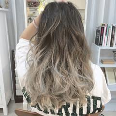 外国人風 暗髪 ストリート グラデーションカラー ヘアスタイルや髪型の写真・画像