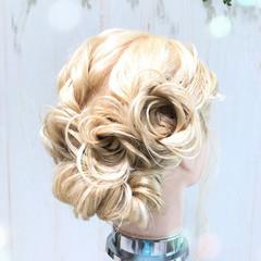 ナチュラル ヘアアレンジ パーティ 成人式 ヘアスタイルや髪型の写真・画像