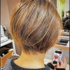 ベリーショート ミニボブ ボブ ショートヘア ヘアスタイルや髪型の写真・画像