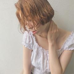 かわいい ボブ 外国人風カラー 表参道 ヘアスタイルや髪型の写真・画像