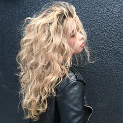 黒髪 セミロング グラデーションカラー ヘアアレンジ ヘアスタイルや髪型の写真・画像