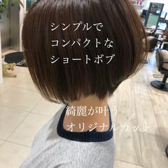 ショート ナチュラル ショートヘア ハンサムショート ヘアスタイルや髪型の写真・画像