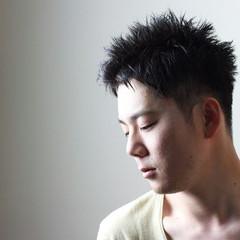 ショート モード 黒髪 暗髪 ヘアスタイルや髪型の写真・画像