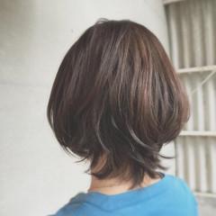 アッシュ ストリート マッシュ ショート ヘアスタイルや髪型の写真・画像