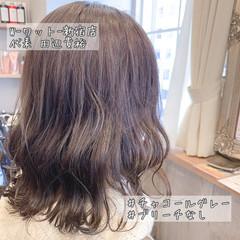 ボブ デート 透明感カラー アンニュイほつれヘア ヘアスタイルや髪型の写真・画像
