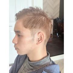メンズカット メンズヘア ツーブロック 大人ショート ヘアスタイルや髪型の写真・画像