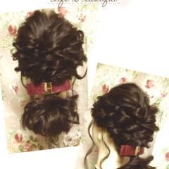 モテ髪 ゆるふわ フェミニン ルーズ ヘアスタイルや髪型の写真・画像