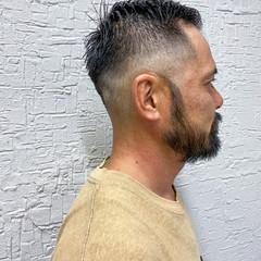 メンズヘア フェードカット メンズ メンズスタイル ヘアスタイルや髪型の写真・画像