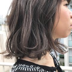 透明感 秋 外国人風 ナチュラル ヘアスタイルや髪型の写真・画像