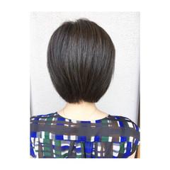 ボブ グレージュ ナチュラル マット ヘアスタイルや髪型の写真・画像