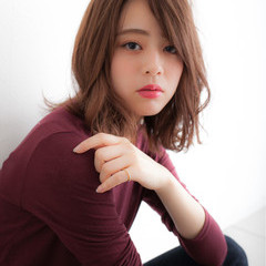 暗髪 パーマ ナチュラル 冬 ヘアスタイルや髪型の写真・画像