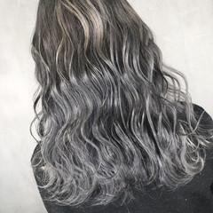 アウトドア ロング ナチュラル 簡単ヘアアレンジ ヘアスタイルや髪型の写真・画像