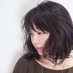 ふわふわ 外国人風 ウェーブ パーマ ヘアスタイルや髪型の写真・画像
