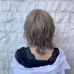 透明感 春ヘア ストリート ミルクティーベージュ ヘアスタイルや髪型の写真・画像