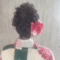 花火大会 夏 ガーリー 涼しげ ヘアスタイルや髪型の写真・画像