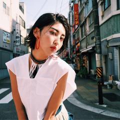 色気 コンサバ グラデーションカラー フェミニン ヘアスタイルや髪型の写真・画像