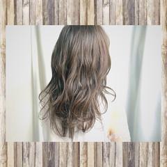 秋 セミロング 外国人風 透明感 ヘアスタイルや髪型の写真・画像