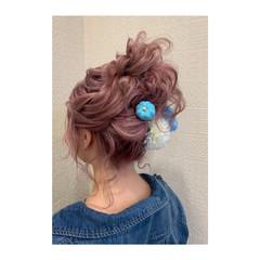 ブリーチ ガーリー 福岡市 成人式ヘア ヘアスタイルや髪型の写真・画像
