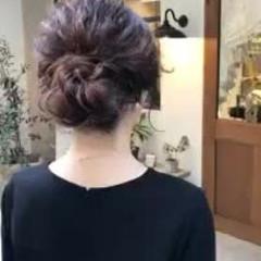 フェミニン 結婚式 ゆるふわ ヘアアレンジ ヘアスタイルや髪型の写真・画像