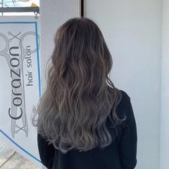 透明感カラー 圧倒的透明感 フェミニン ロング ヘアスタイルや髪型の写真・画像