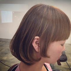 ストリート ハイライト アッシュ 耳かけ ヘアスタイルや髪型の写真・画像