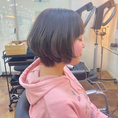 フェミニン ピンクアッシュ ピンク ピンクブラウン ヘアスタイルや髪型の写真・画像