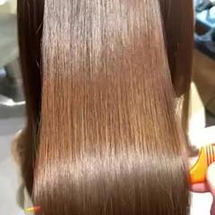 最新トリートメント ロング 髪質改善トリートメント ナチュラル ヘアスタイルや髪型の写真・画像