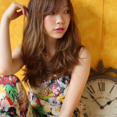 大人かわいい ロング 外国人風 ゆるふわ ヘアスタイルや髪型の写真・画像